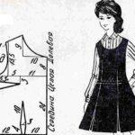 Модели школьной формы для девочек с выкройками