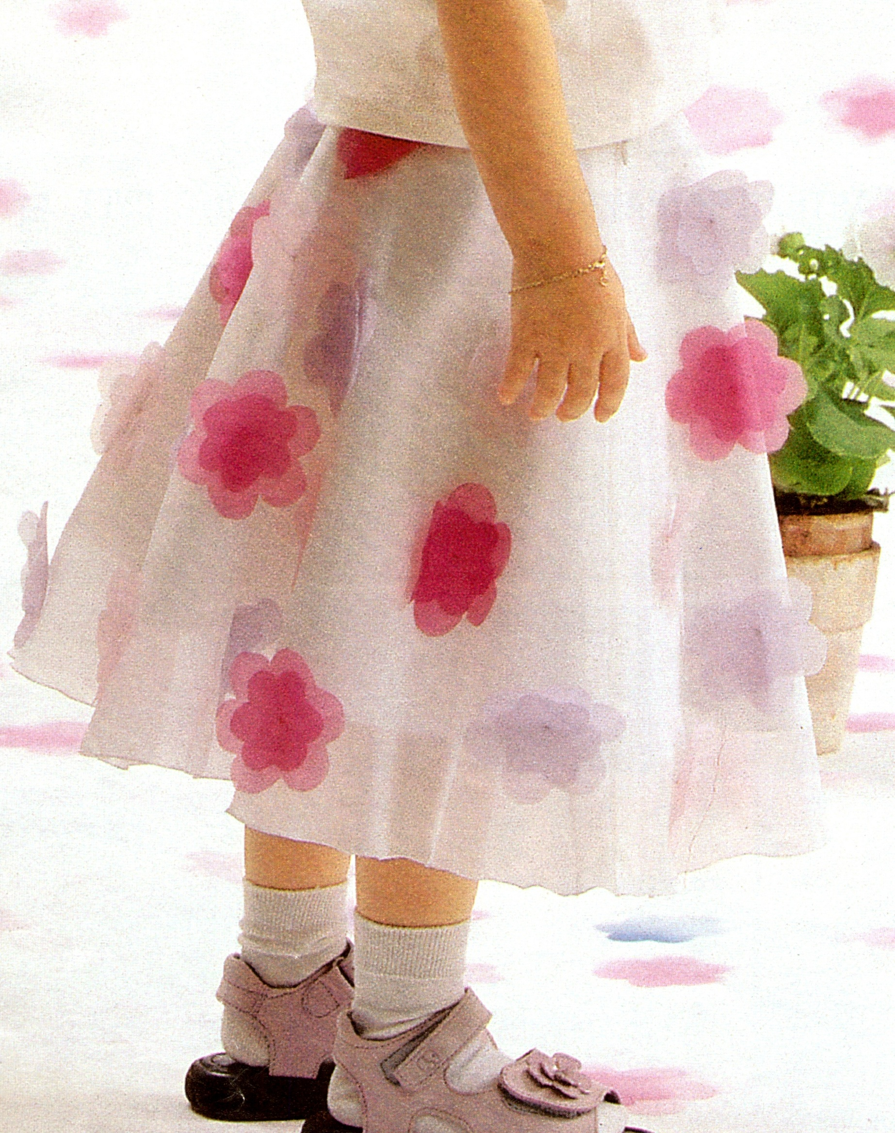 юбки для девочек на весну
