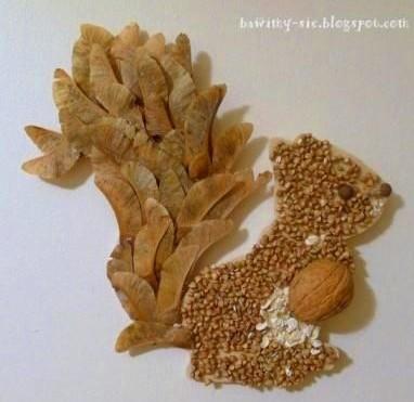 осенние поделки из природного материала