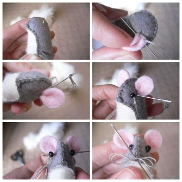 мышь брелок